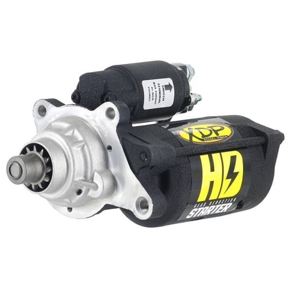 6.0L XDP Wrinkle Black Gear Reduction Starter