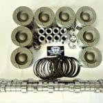 6.0L Ford Powerstroke diesel HD piston & stg 1 camshaft pkg