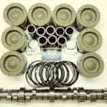 6.4L Ford Powerstroke Diesel HD Piston set & Stage 2 Camshaft pkg