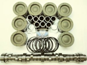 6.4L Ford Powerstroke Diesel HD Piston set & Stage 1 Camshaft pkg