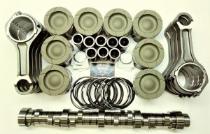 6.4LFord Powerstroke diesel HD pistons, OEM rods & Stg 2 Camshaft pkg