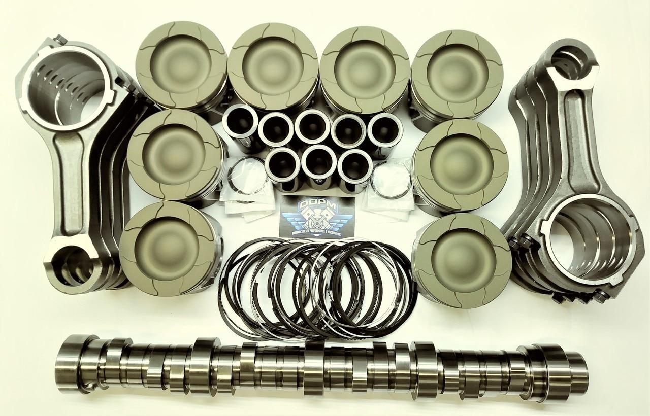 6.4L Ford Powerstroke diesel HD pistons, OEM rods & Stg 1 Camshaft pkg