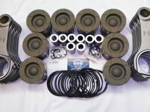 6.0L Ford Powerstroke Diesel  Piston & Billet Rod Package
