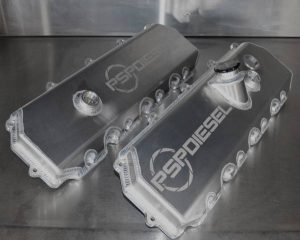 PSP Diesel 6.0L Powerstroke Valve Cover - Late Style
