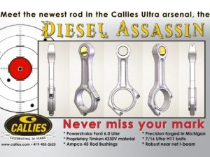 Callies 6.0 Powerstroke Forged Connecting Rods
